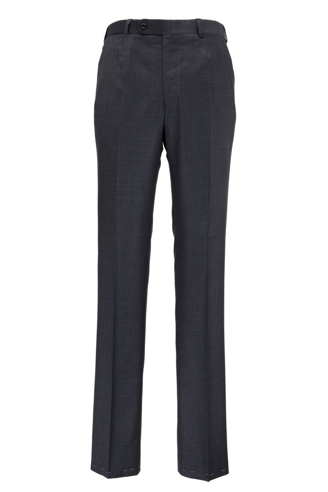 Monroe Medium Gray Wool Dress Pants