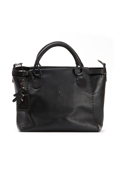 Henry Beguelin - Gisele Black East West Contrast Shopper Tote