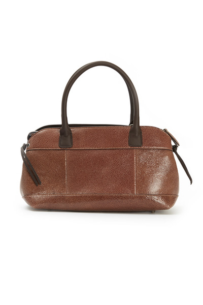 Brunello Cucinelli - Signature Chocolate Leather Handbag