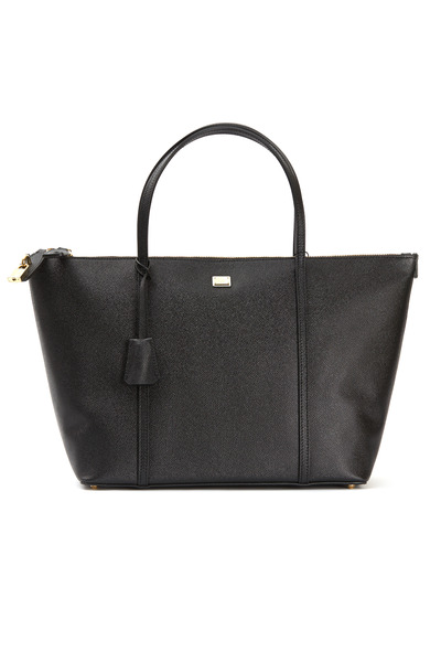 Dolce & Gabbana - Escape Black Saffino Sport Shopper Tote