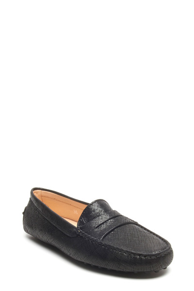 Tod's - Gommino Black Leather Driving Shoe