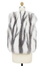 Brunello Cucinelli - Natural Fox Fur Vest