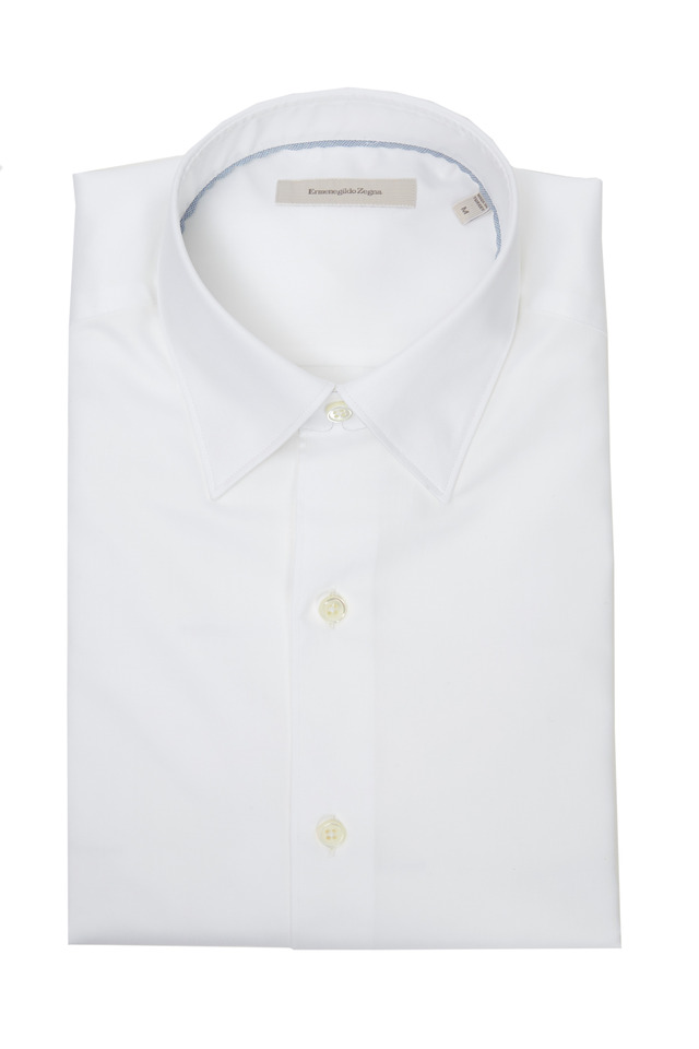 White 3-Ply Sport Shirt