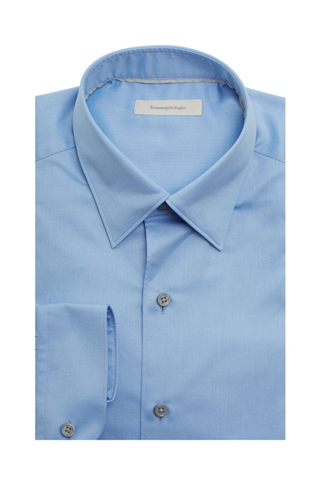 Light Blue 3-Ply Sport Shirt