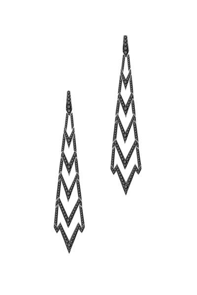 Stephen Webster - 18K White Gold Diamond Earrings