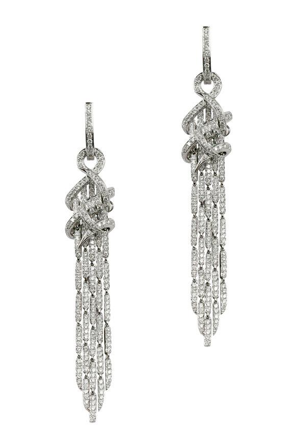 Stephen Webster 18K White Gold Diamond Earrings