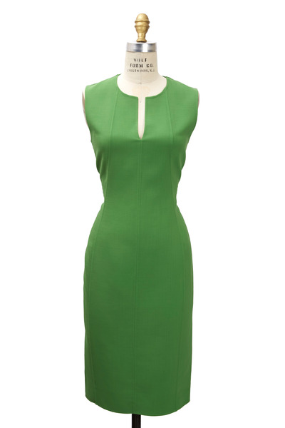 Reed Krakoff - Peridot Wool Dress