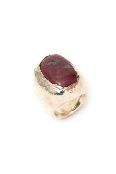 Precious - Sterling Silver Carnelian Ring