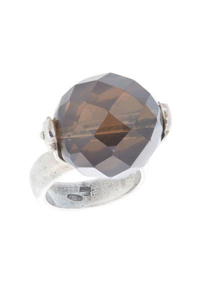 Precious - Sterling Silver Smokey Quartz Ring