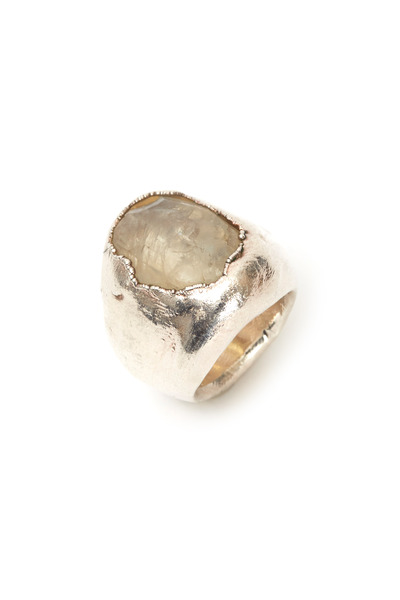 Precious - Large Sterling Silver Ring