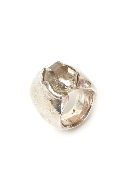 Precious - Sterling Silver Crystal Ring