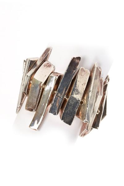 Precious - Sterling Silver Large Spike Bracelet