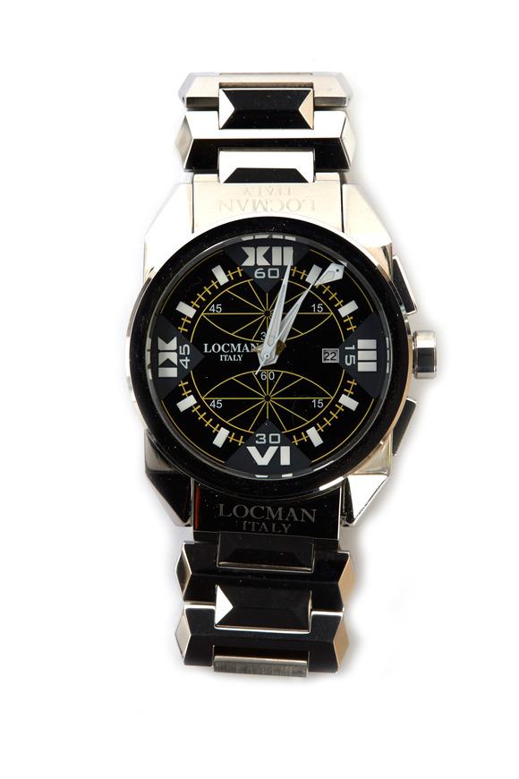 Locman Cavallo Pazzo Stainless Steel Chronograph Watch