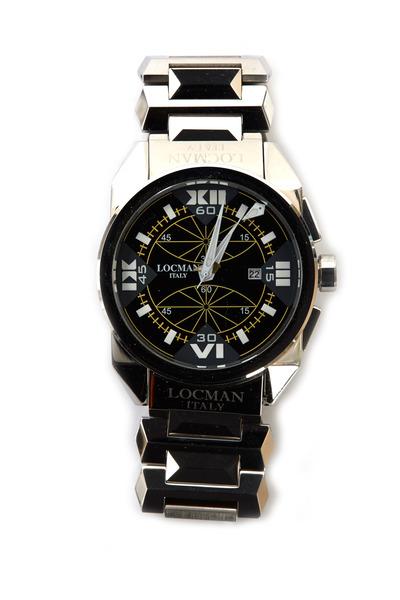 Locman - Cavallo Pazzo Stainless Steel Chronograph Watch