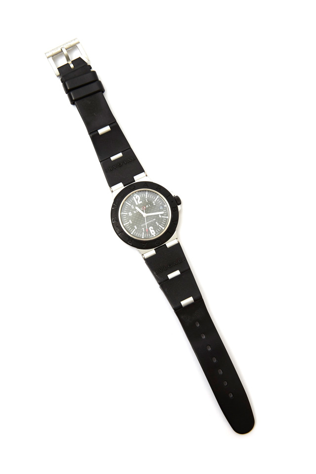 Carbon Fiber Dial Automatic Watch, 38mm