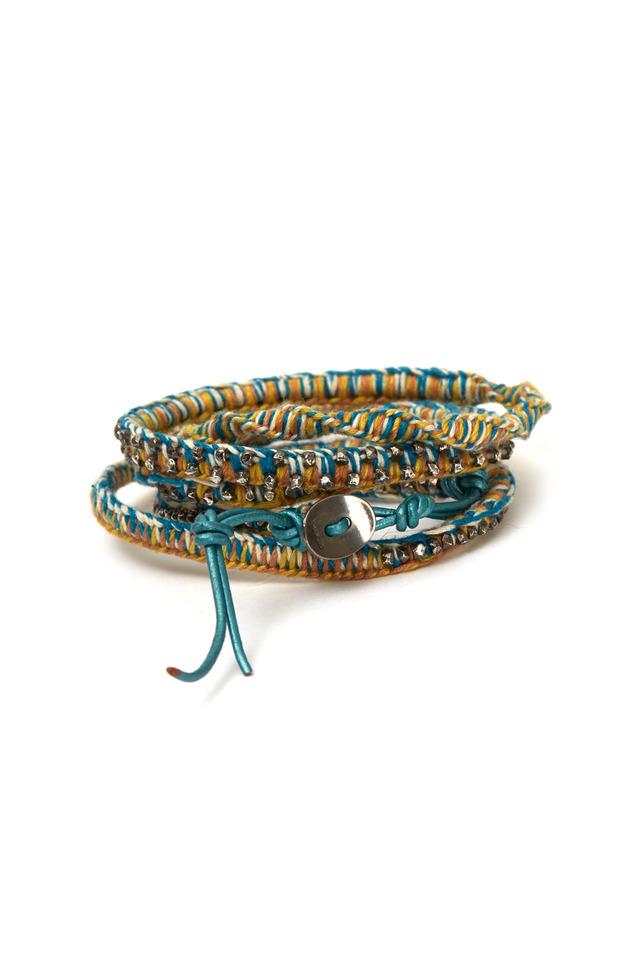 Cotton Wrap Bracelet