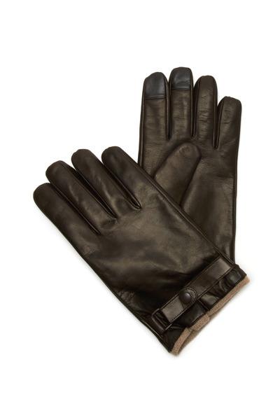 Portolano - Brown Nappa Leather Gloves