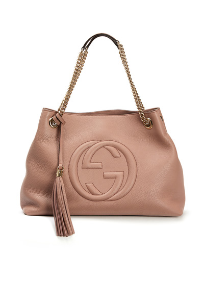 Gucci - Soho Blush Leather Medium Tote