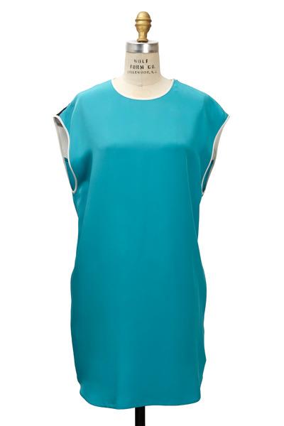 3.1 Phillip Lim - Turquoise Silk Dress