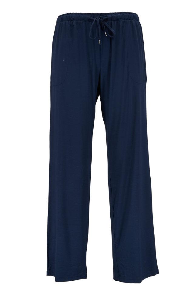 Navy Blue Jersey Lounge Pant