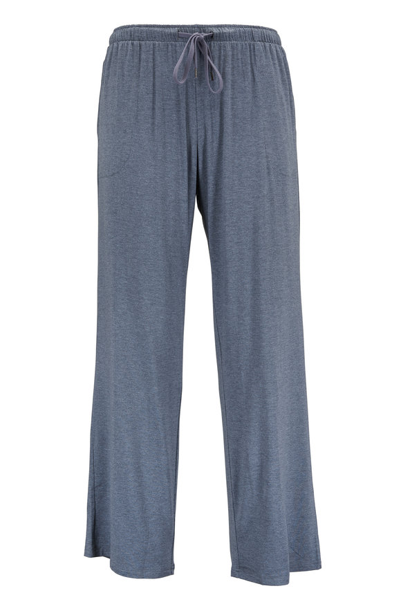 Derek Rose Charcoal Gray Jersey Lounge Pant
