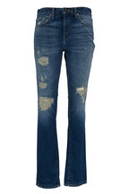 J Brand - The Tyler Slim Fit Destroyed Jeans