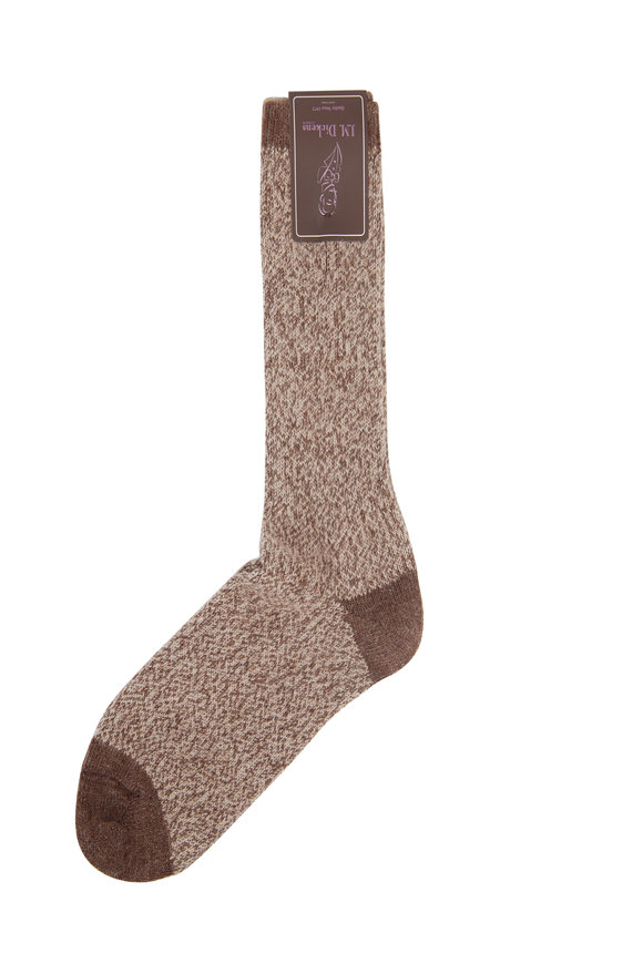 British Apparel Light Brown Alpaca Socks