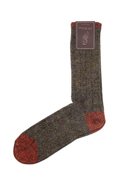 British Apparel - Olive Green Wool Socks