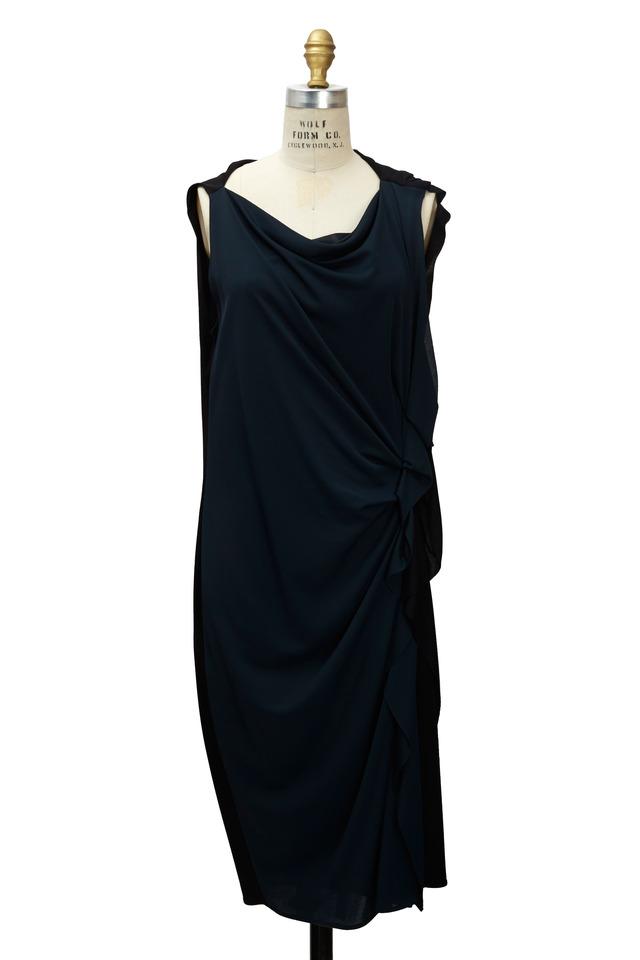 Pietersite & Black Jersey Dress