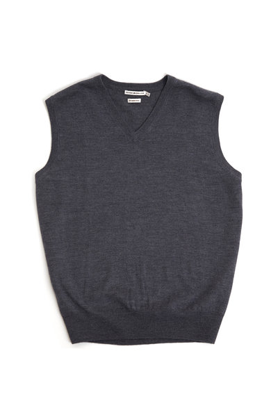 Peter Millar - Charcoal Gray Merino Wool Vest