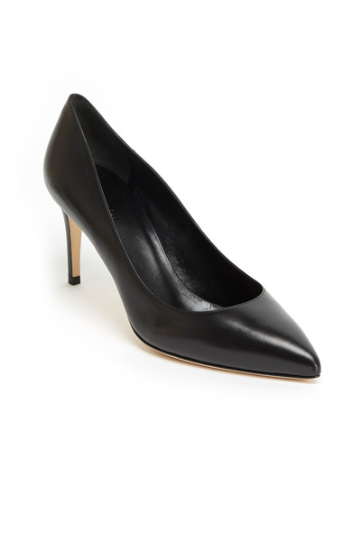Gucci - Brooke Black Leather Pumps, 75mm