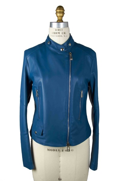 Belstaff - Blue Leather Jacket