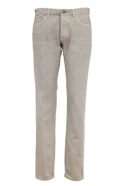 Brunello Cucinelli - Tan Five Pocket Pant
