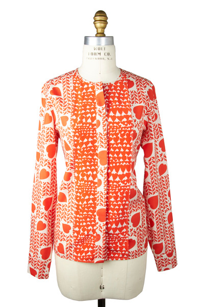 Stella McCartney - Pomegranate Silk Shirt