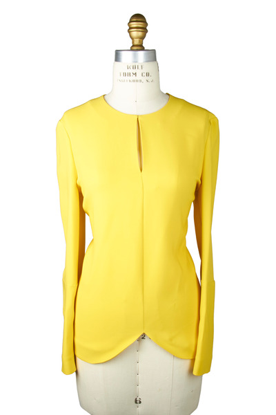 Stella McCartney - Yellow Cady Blouse