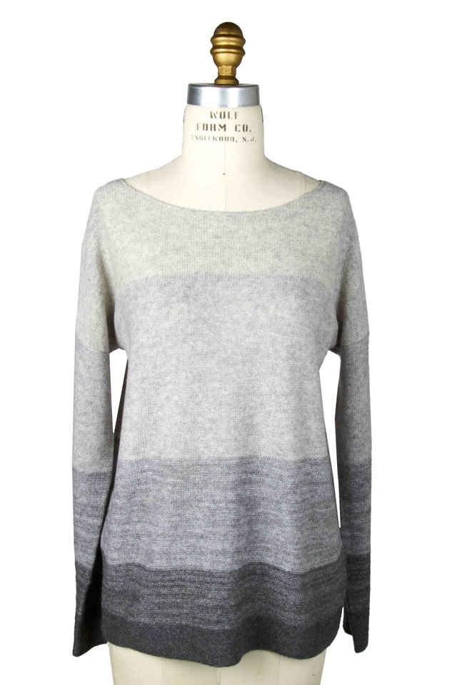 Cashmere Degrade Grey Sweater