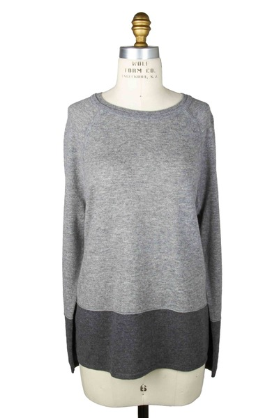 Vince - Platinum Cashmere Sweatshirt