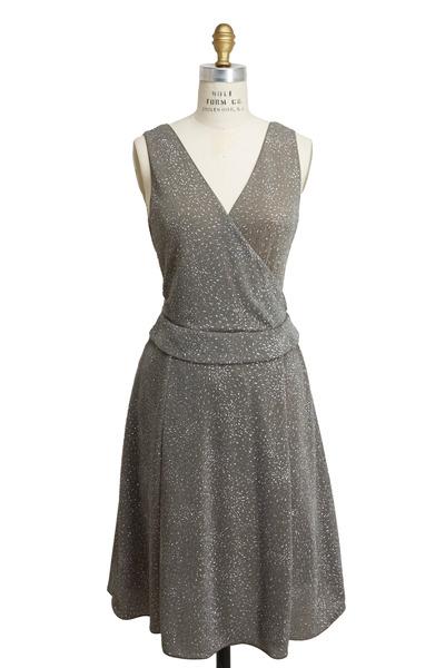 Emporio Armani - Olive Green Jersey Dress