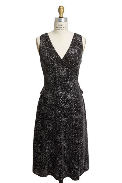 Emporio Armani - Black Jersey Dress