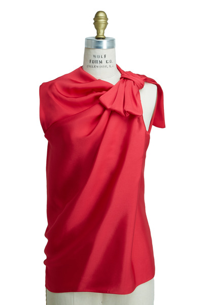 Lanvin - Red Blouse