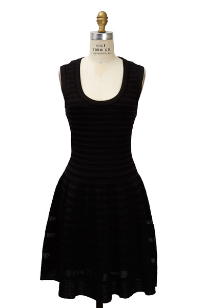 M Missoni - Black Knit Dress