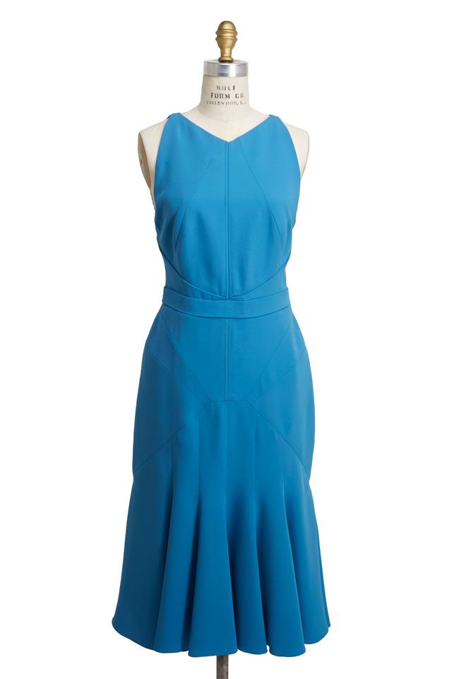 Godet Ocean Dress