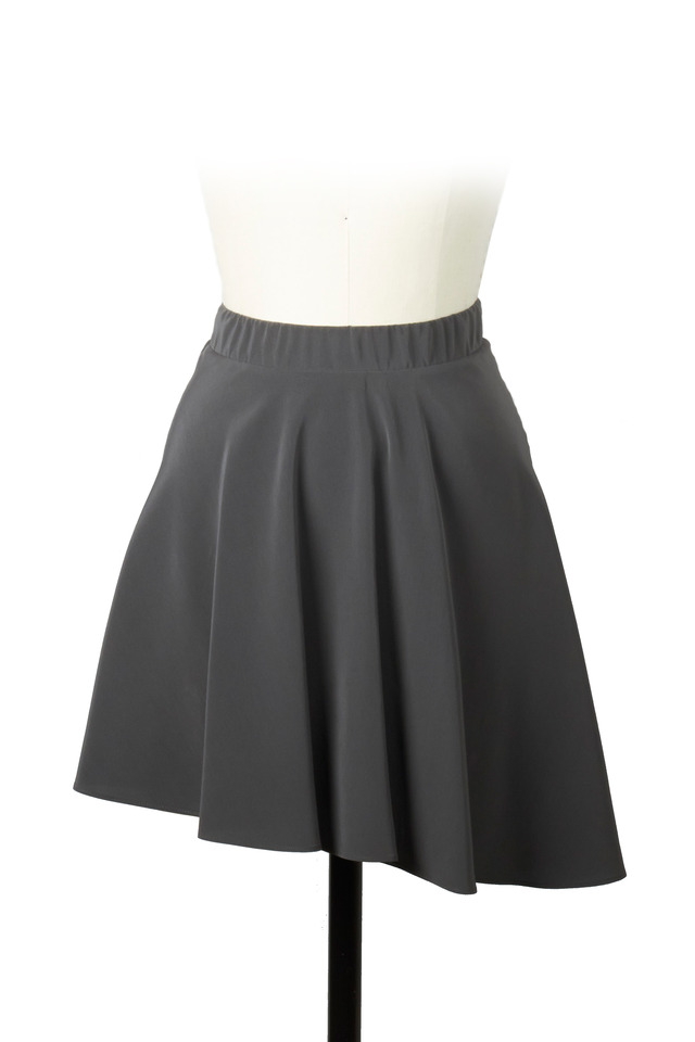 Army Silk Skirt