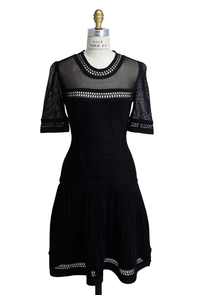 Herve Leger - Black Dress