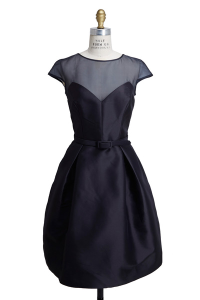 Theia - Navy Blue Dress