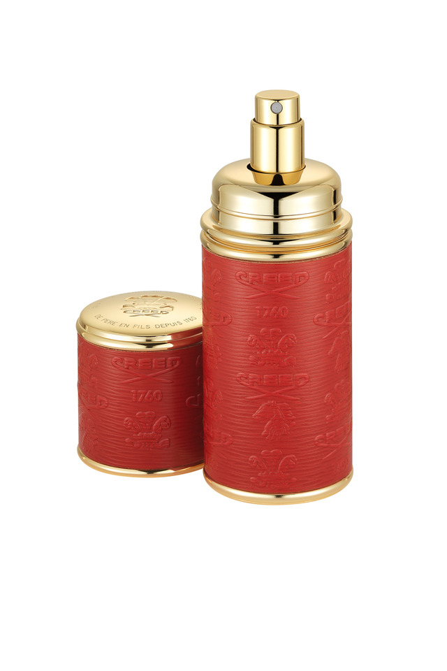 Red Embossed Atomizer