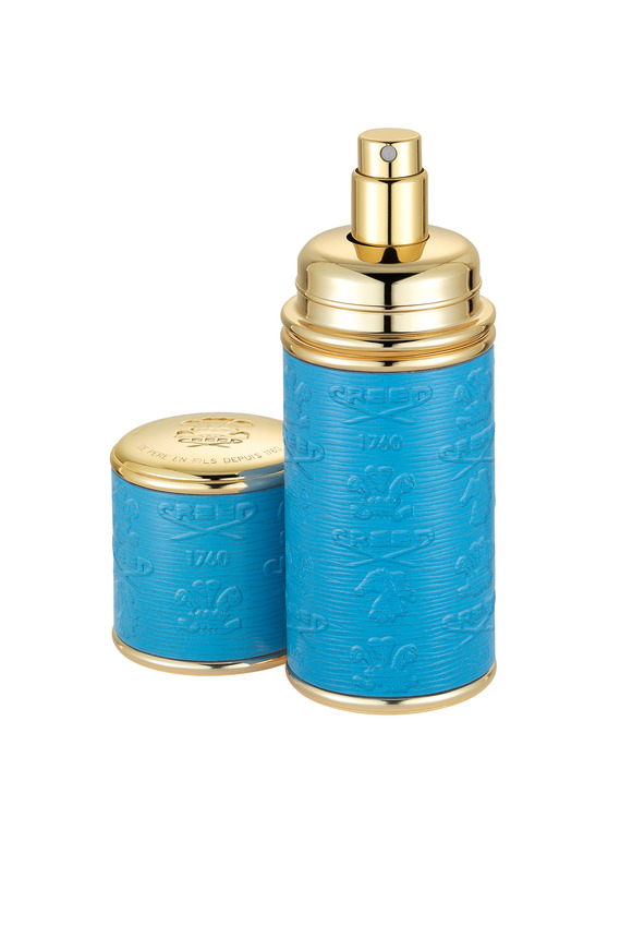 Creed Electirc Blue Embossed Atomizer