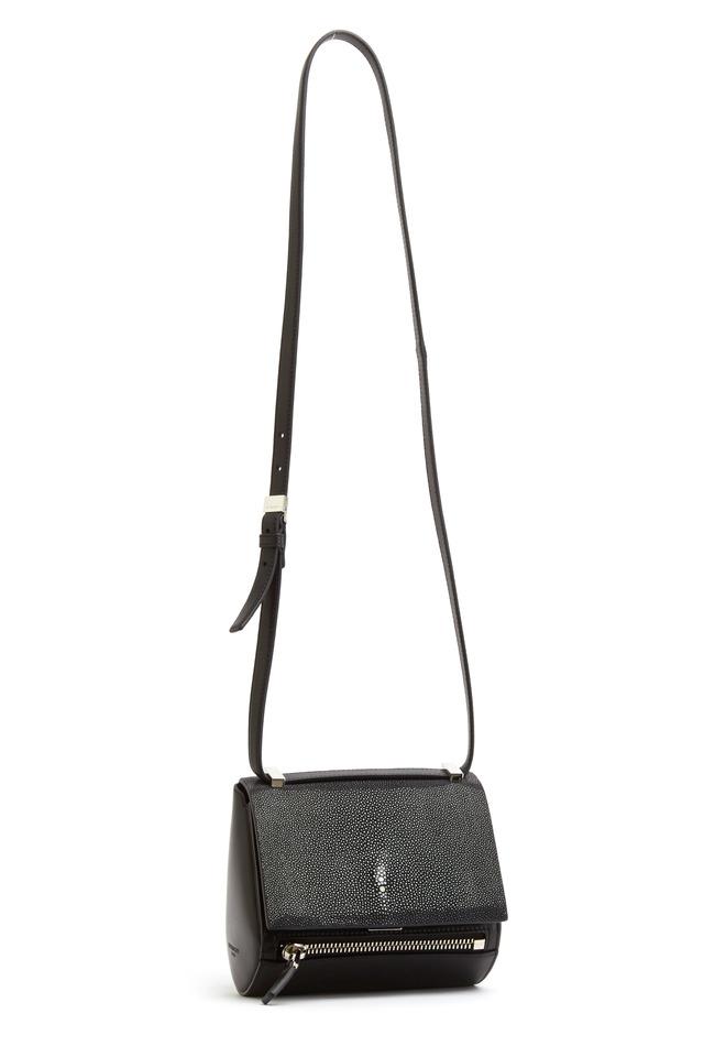 Pandora Black leather Stingray Mini Handbag