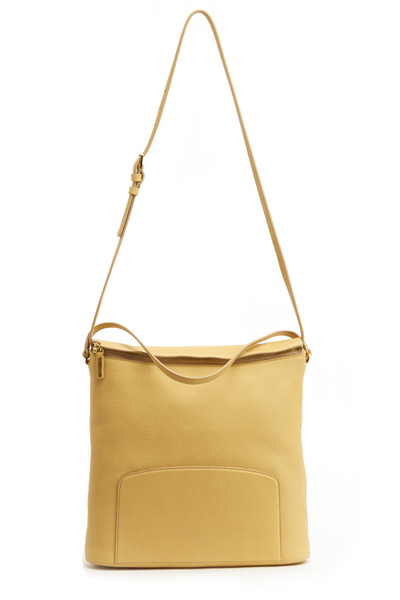 The Row - Canary Leather Hobo