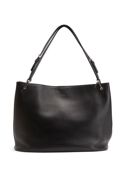 Tod's - Horse Black Leather Medium Tote